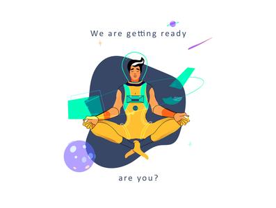 Astro Boy Meditating