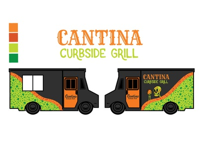 Cantina Curbside Food Truck Design