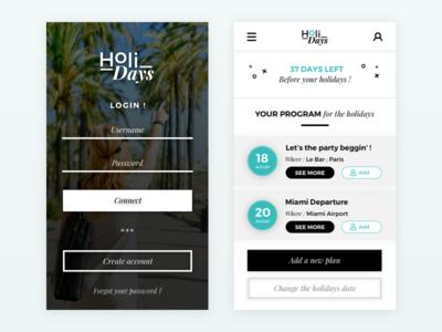 HoliDays App