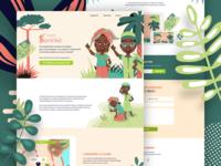 Le Petit Soninke Landing Page