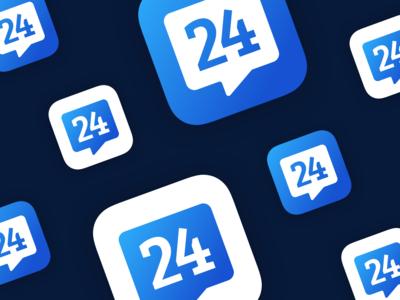 Rennes 24 App Icon Design