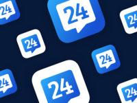 Rennes 24 App Icon Design
