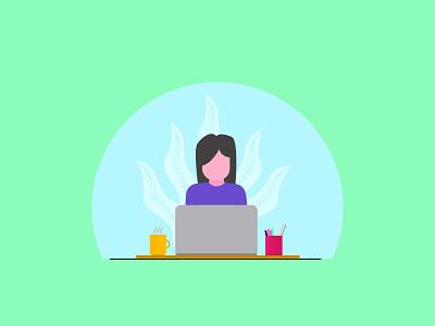 Worker Illustration