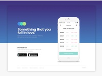 iOS App Landing Page