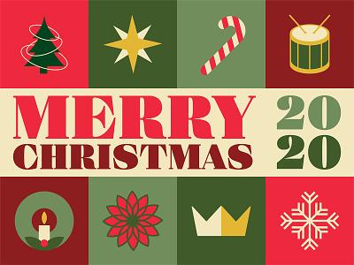 Merry Christmas_BRD_12-17-20 graphic design vector illustrator christmas merry christmas
