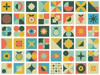Geometric Pattern  #2 BRD 1-25-19