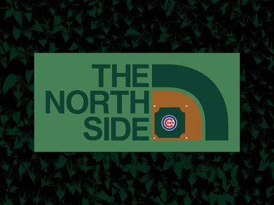 The North Side Wrigley Field BRD 6-27-19 the north face parody logo the north side wrigley field chicago cubs chicago