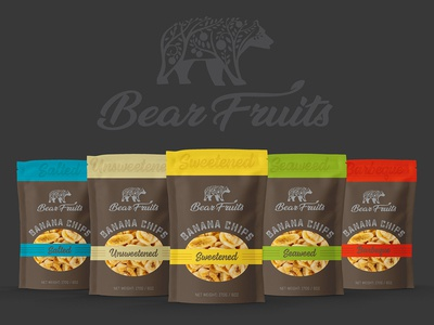 Bear Fruits Banana Chips Packaging #2_BRD_7-16-19