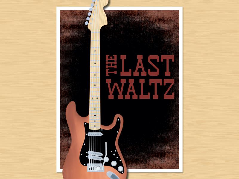Last Waltz_Midway Font Sample_BRD_11-12-19 font midway stratocaster poster retro vintage vector illustrator illustration
