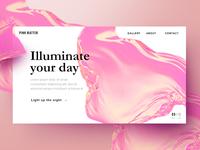 UI Card: Pink Matter