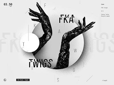 FKA twigs | Full Project on Behance berghoef lucas cover white black love to good art album fka twigs