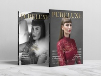 Two Covers | Pure Luxe Magazine No.02