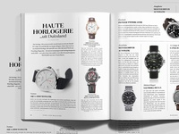 Musthave Watches — Pure Luxe Magazine No.02