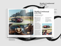 Bentley Review Spread | Pure Luxe Magazine No.02