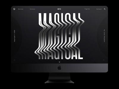 Magical — iMac Pro (Bezel-less) berghoef lucas white black imac pro apple magical