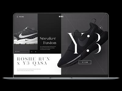 Sneaker Fusion: Nike Roshe Run x Y3 Qasa sock darts runner nike minimal vitamine c web ui run roshe huarache fusion sneaker