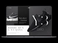 Sneaker Fusion: Nike Roshe Run x Y3 Qasa