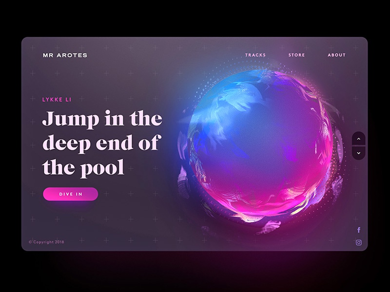 Jump in the deep end of the pool - Screen app website inspiration freelancer interface sketch photoshop typography ux ui web design design