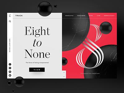 Eight to None app website inspiration freelancer interface sketch photoshop typography ux ui web design design