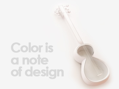 Music is Life tar azerbaijan instrument national color music note design