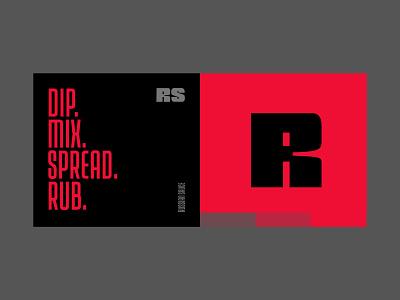 Russian Sauce - Lettering lettering branding brand identity logo