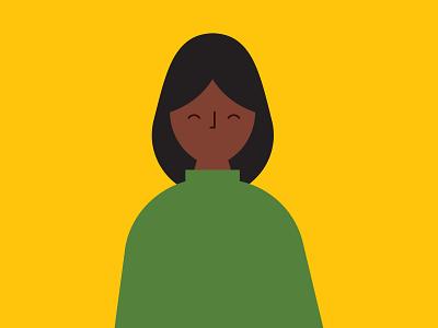 Editorial Character Illustration illustration