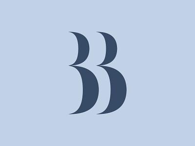BB Monogram bb brand concept brand design brand identity branding logotype monogram logo