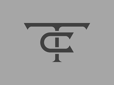 Top Challenger Monogram branding type lettering brand identity monogram letter mark logo tc monogram