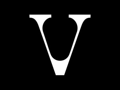 V v type animation motion challenge typography fontface letter 36daysoftype black  white minimal typeface 36 days of type