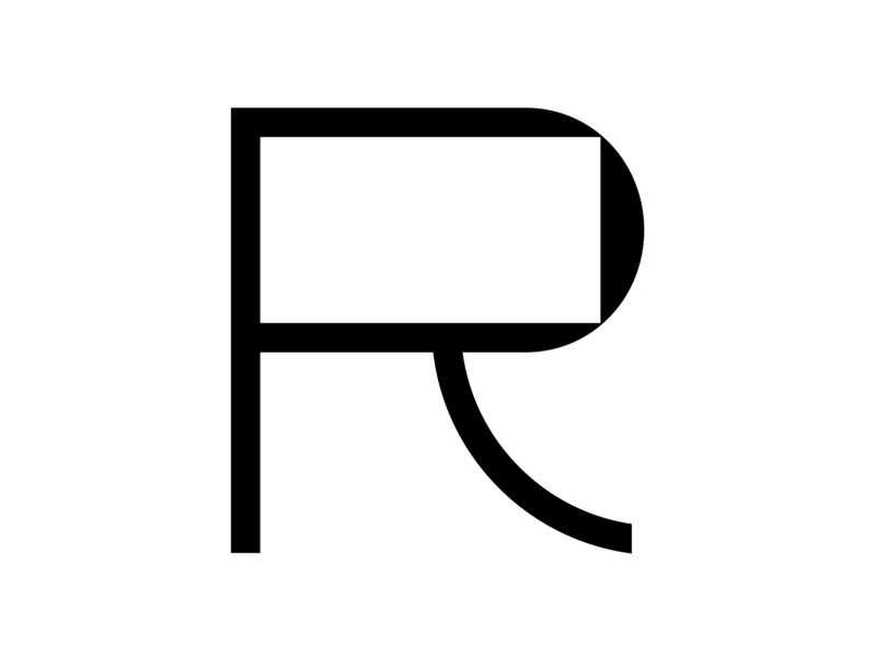 R minimal black  white 36 days of type lettering r lettering fontface typography typeface letter adobe challenge 36 days of type