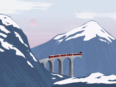 Train to winter
