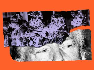 Trump's Op LeGend vector law enforcement editorial illustration collage editorial politics design illustration
