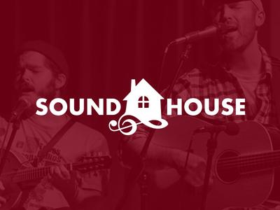 Soundhouse logo identity branding design logotype emblem