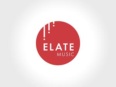 Elate Music identity branding orchestra music logo mark emblem