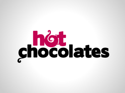Hot Chocolates identity branding logo mark emblem