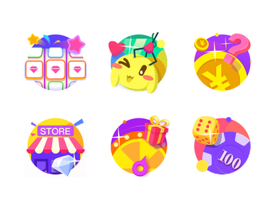 Icons of Online Casino Games