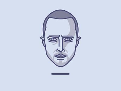 Jesse Pinkman portrait jesse pinkman illustration vector breaking bad istanbul mustafa kural