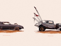 Mad max vehicle series