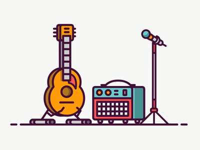 Music Equipment Icon