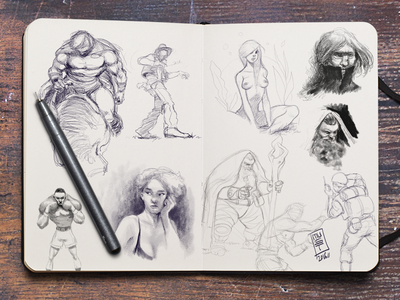 Sketchbook-Pt-VI