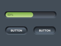Simple Progress Bar & Buttons