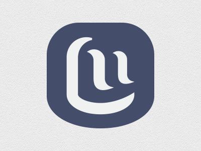 LM initials - personal logo mongram logo l m letters