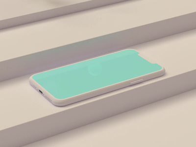 IPhone Mockup phone designe ui animation motion graphics color design cinema4d c4d 3d