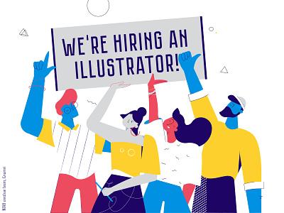 Join us join team work hiring hire armenia job office design video plants girl illustration character boy animation 2d