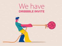 We got a invite
