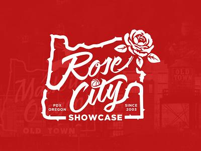 Rose City Showcase T-shirt logo rose city oregon portland