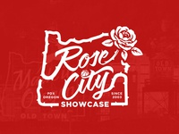 Rose City Showcase T-shirt