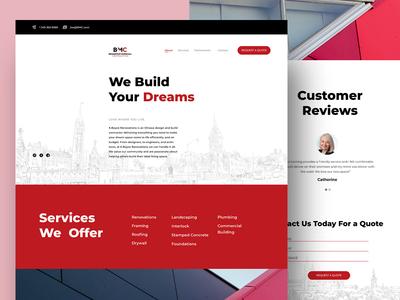 BMC Consulting website