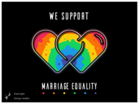 🌈We support marriage equality.😘