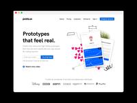 Proto.io Homepage Exploration